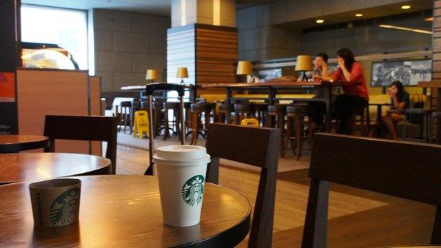 Bank of China Starbucks